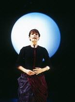 Pamela Helen Stephen (Phoebe Meryll) in THE YEOMEN OF THE GUARD by Gilbert & Sullivan at Welsh National Opera, Cardiff, Wales 13/12/1994 conductor: Gareth Jones set design: Peter J Davison costumes: N...