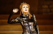Rosemary Ashe (Helen, Queen of Sparta) in LA BELLE HELENE by Offenbach at Sadler's Wells, London EC1 1988 music: Jacques Offenbach text: Henri Meilhac & Ludovic Halévy conductor: Simon Phipps design:...