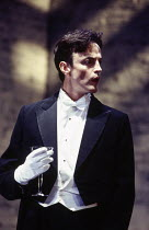 Paul Rhys (Leo) in DESIGN FOR LIVING by Noel Coward at the Donmar Warehouse, London WC2 06/09/1994 design: Stephen Brimson Lewis lighting: Mark Henderson director: Sean Mathias