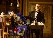 Lillian Watson (An Italian Soprano), Bonaventura Bottone (An Italian Tenor) in CAPRICCIO at The Royal Opera, Covent Garden, London WC2 26/01/1991 music: Richard Strauss libretto: Clemens Krauss & Rich...