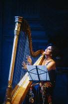 Kiri Te Kanawa (The Countess Madeleine) in CAPRICCIO at The Royal Opera, Covent Garden, London WC2 26/01/1991 music: Richard Strauss libretto: Clemens Krauss & Richard Strauss conductor: Jeffrey Tate...