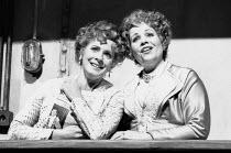 l-r: Suzanne Johnston (Dorabella), Renee Fleming (Fiordiligi) in COSI FAN TUTTE by Mozart at Glyndebourne Festival Opera, East Sussex, England 03/05/1992 music: Wolfgang Amadeus Mozart libretto: Loren...