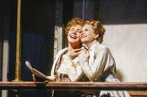 l-r: Suzanne Johnston (Dorabella), Amanda Roocroft (Fiordiligi) in COSI FAN TUTTE by Mozart at Glyndebourne Festival Opera, East Sussex, England 24/05/1991 music: Wolfgang Amadeus Mozart libretto: Lor...