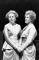 l-r: Amanda Roocroft (Fiordiligi), Suzanne Johnston (Dorabella) in COSI FAN TUTTE by Mozart at Glyndebourne Festival Opera, East Sussex, England 24/05/1991 music: Wolfgang Amadeus Mozart libretto: Lor...