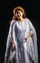 Janet Baker (Alceste) in ALCESTE by Gluck at The Royal Opera, Covent Garden, London WC2 26/11/1981 music: Christoph Willibald Gluck French libretto: Marie François Louis Gand Leblanc Roullet after th...