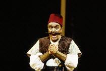 Ruggero Raimondi (Mustafa, Bey of Algiers) in L'ITALIANA IN ALGERI by Rossini at The Royal Opera, Covent Garden, London WC2 18/09/1993 music: Gioachino Rossini libretto: Angelo Anelli conductor: Carlo...