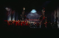 citizens of Moscow in KHOVANSHCHINA performed by English National Opera (ENO), London Coliseum, London WC2 24/11/1994 music & libretto: Modest Mussorgsky orchestration: Dmitri Shostakovitch conductor:...