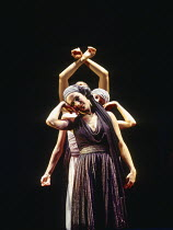Persian slaves danced by The Cholmondeleys in KHOVANSHCHINA performed by English National Opera (ENO), London Coliseum, London WC2 24/11/1994 music & libretto: Modest Mussorgsky orchestration: Dmitri...