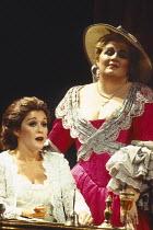 l-r: Sylvia McNair (Susanna), Christine Brewer (Countess Almaviva) in LE NOZZE DI FIGARO at The Royal Opera, Covent Garden, London WC2 25/04/1994 music: Wolfgang Amadeus Mozart libretto: Lorenzo Da Po...