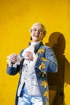 Christine Botes (Cherubino) in FIGARO'S WEDDING at English National Opera (ENO), London Coliseum, London WC2 30/10/1991 music: Wolfgang Amadeus Mozart libretto: Lorenzo Da Ponte conductor: Paul Danie...