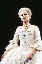 Joan Rodgers (Countess Almaviva) in FIGARO'S WEDDING at English National Opera (ENO), London Coliseum, London WC2 30/10/1991 music: Wolfgang Amadeus Mozart libretto: Lorenzo Da Ponte conductor: Paul...