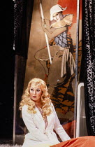 Karan Armstrong (Lulu) in LULU at at The Royal Opera, Covent Garden, London WC2 16/02/1981 music: Alban Berg libretto: Alban Berg after 'Erdgeist' & 'Die Buchse der Pandora' by Frank Wedekind conducto...