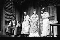 l-r: Thomas Carey (Joe), Ena Cabayo (Queenie), Cleo Laine (Julie LaVerne), Lorna Dallas (Magnolia Hawks) in SHOW BOAT at the Adelphi Theatre, London WC2 29/07/1971 music: Jerome Kern book & lyrics: Os...