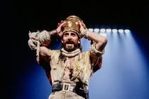 Antony Sher (Tamburlaine) in TAMBURLAINE THE GREAT by Christopher Marlowe at the Royal Shakespeare Company (RSC), Swan Theatre, Stratford-upon-Avon, England 01/09/1992 design: Johan Engels lighting: W...