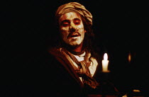 Antony Sher (Moliere) in MOLIERE by Bulgakov at the Royal Shakespeare Company (RSC), The Other Place, Stratford-upon-Avon 05/08/1982 in a new version by Dusty Hughes set design: Ralph Koltai costumes:...