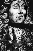 Antony Sher (Moliere) in MOLIERE by Bulgakov at the Royal Shakespeare Company (RSC), The Pit, Barbican Centre, London EC2 08/09/1983 in a new version by Dusty Hughes set design: Ralph Koltai costumes:...